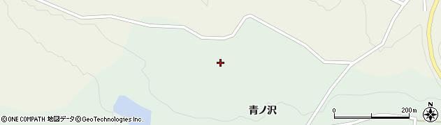 宮城県栗原市栗駒片子沢青ノ沢周辺の地図