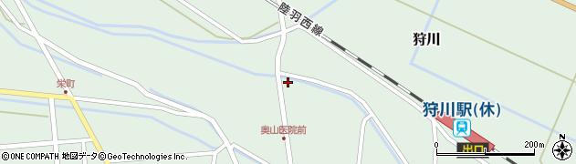 山形県東田川郡庄内町狩川小野里128周辺の地図