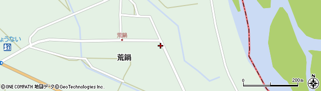 山形県東田川郡庄内町狩川荒鍋11周辺の地図