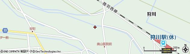 山形県東田川郡庄内町狩川薬師堂西2周辺の地図