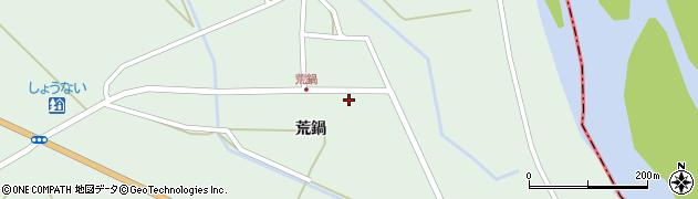 山形県東田川郡庄内町狩川荒鍋14周辺の地図