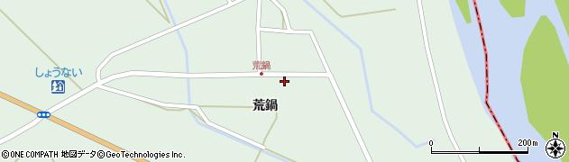 山形県東田川郡庄内町狩川荒鍋16周辺の地図