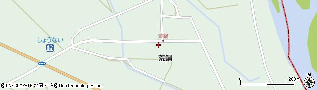 山形県東田川郡庄内町狩川荒鍋21周辺の地図