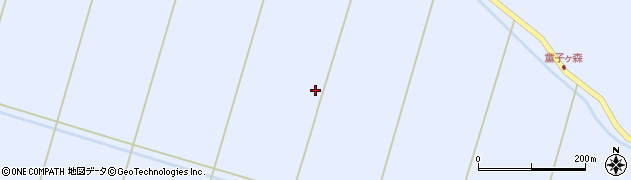 宮城県栗原市若柳武鎗中丁場周辺の地図