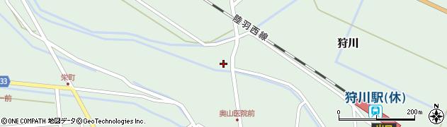 山形県東田川郡庄内町狩川萱積場51周辺の地図
