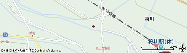 山形県東田川郡庄内町狩川萱積場50周辺の地図