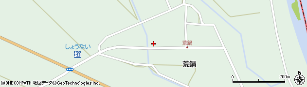 山形県東田川郡庄内町狩川荒鍋42周辺の地図