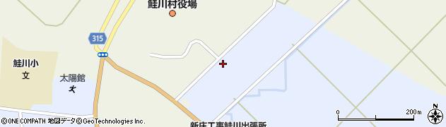 山形県最上郡鮭川村川口3175周辺の地図