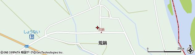 山形県東田川郡庄内町狩川荒鍋46周辺の地図