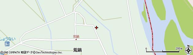 山形県東田川郡庄内町狩川荒鍋61周辺の地図