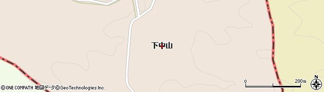 岩手県一関市藤沢町黄海(下中山)周辺の地図