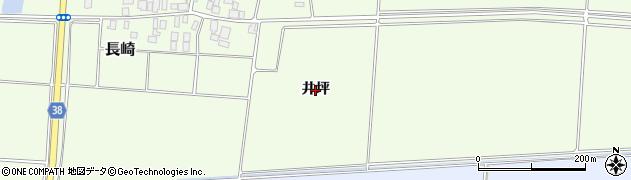 山形県鶴岡市長崎(井坪)周辺の地図