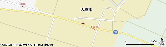 山形県東田川郡庄内町大真木中屋敷19周辺の地図
