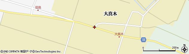 山形県東田川郡庄内町大真木西フケ22周辺の地図