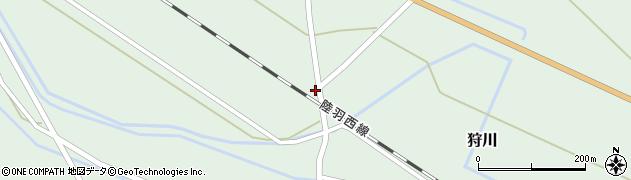 山形県東田川郡庄内町狩川萱積場39周辺の地図