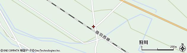 山形県東田川郡庄内町狩川萱積場40周辺の地図