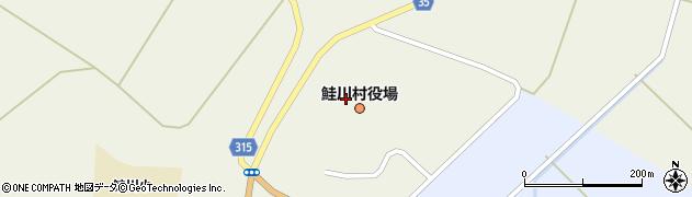 山形県最上郡鮭川村周辺の地図