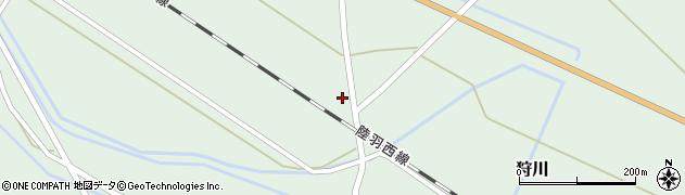 山形県東田川郡庄内町狩川萱積場14周辺の地図