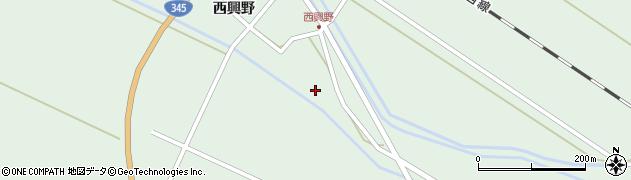 山形県東田川郡庄内町狩川西興野13周辺の地図