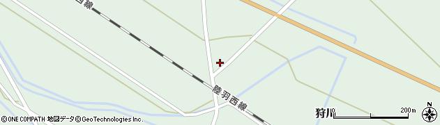 山形県東田川郡庄内町狩川萱積場12周辺の地図