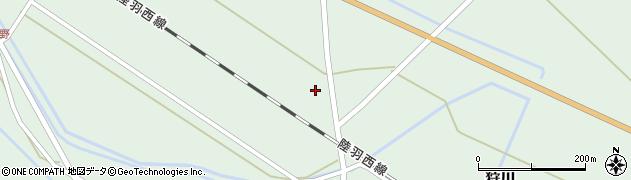 山形県東田川郡庄内町狩川萱積場21周辺の地図