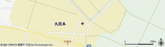山形県東田川郡庄内町大真木中屋敷70周辺の地図