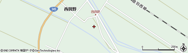 山形県東田川郡庄内町狩川西興野16周辺の地図