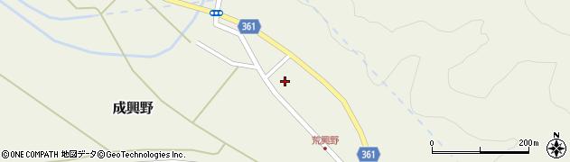 山形県酒田市成興野上堰内79周辺の地図