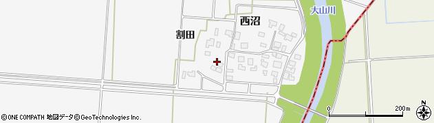 山形県鶴岡市西沼(鈴木)周辺の地図