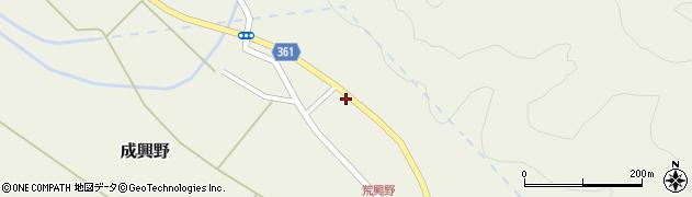 山形県酒田市成興野上堰内80周辺の地図