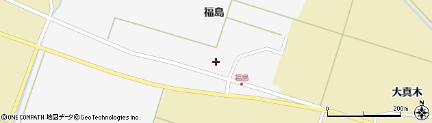 山形県東田川郡庄内町福島東大坪22周辺の地図
