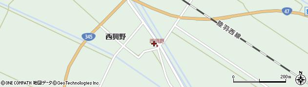 山形県東田川郡庄内町狩川西興野27周辺の地図