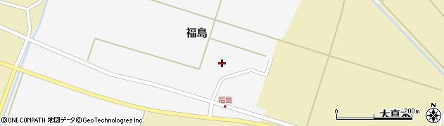 山形県東田川郡庄内町福島周辺の地図