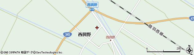 山形県東田川郡庄内町狩川西興野1周辺の地図