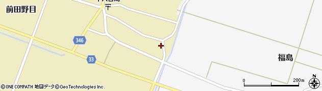 山形県東田川郡庄内町前田野目余慶13周辺の地図