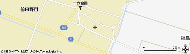 山形県東田川郡庄内町前田野目前割22周辺の地図