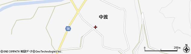 山形県最上郡鮭川村中渡97周辺の地図