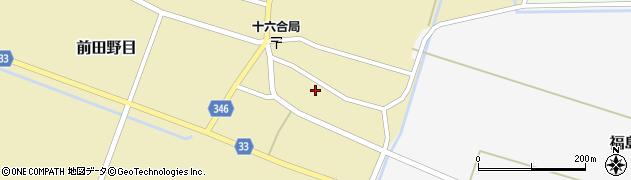 山形県東田川郡庄内町前田野目前割23周辺の地図