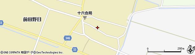 山形県東田川郡庄内町前田野目前割24周辺の地図