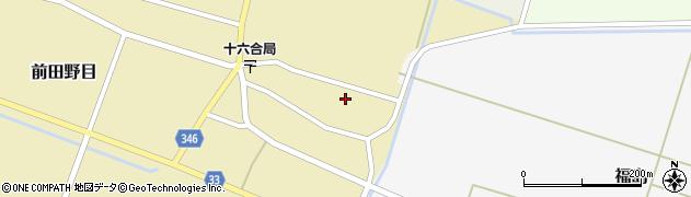 山形県東田川郡庄内町前田野目前割10周辺の地図