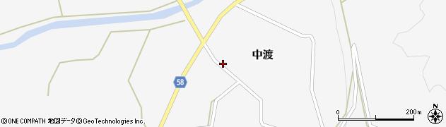 山形県最上郡鮭川村中渡86周辺の地図