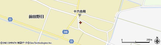 山形県東田川郡庄内町前田野目前割71周辺の地図