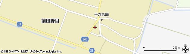 山形県東田川郡庄内町前田野目前割36周辺の地図