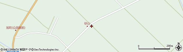 山形県東田川郡庄内町狩川砂山外周辺の地図