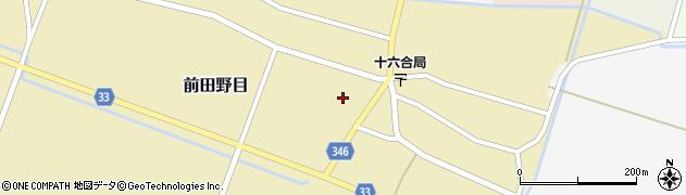 山形県東田川郡庄内町前田野目前割45周辺の地図