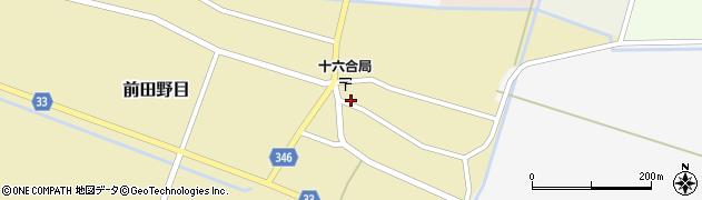 山形県東田川郡庄内町前田野目前割32周辺の地図