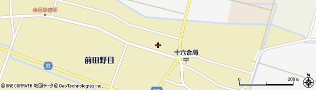 山形県東田川郡庄内町前田野目田割31周辺の地図
