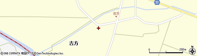 山形県東田川郡庄内町吉方稗田59周辺の地図