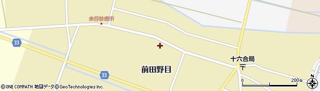 山形県東田川郡庄内町前田野目前割100周辺の地図
