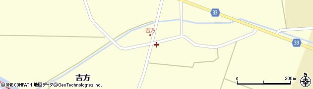 山形県東田川郡庄内町吉方周辺の地図